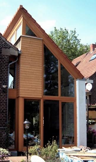 Anbau an ein zechenhaus in oberhausen for Architekturburo oberhausen